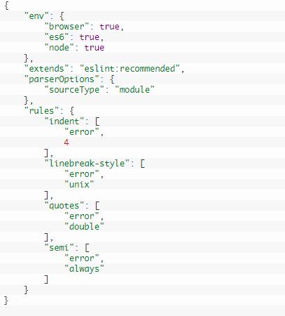 ESLint Configuration FIle