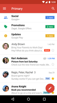Gmail Android Application